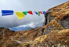 Ландшафт больших Гималаев стоковые фото