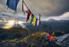 Ландшафт больших Гималаев стоковое изображение