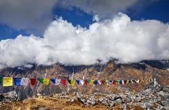 Ландшафт больших Гималаев стоковые изображения