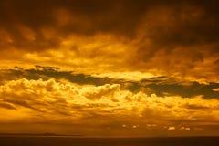 ландшафт бурный Стоковые Изображения RF