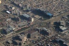 Ландшафт вида на город Кабула, Афганистан стоковые фото