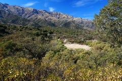 Ландшафт Виллы de Merlo стоковая фотография rf