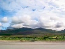Ландшафт вокруг кольца ` побережья ` Керри, Ирландии стоковое изображение rf