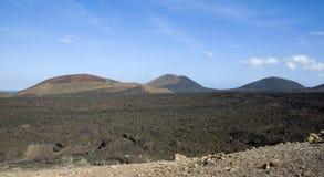 ландшафт вулканический Стоковая Фотография RF