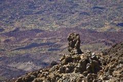 ландшафт вулканический Стоковые Изображения