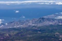 ландшафт вулканический Стоковое Изображение RF