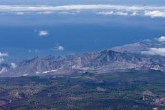 ландшафт вулканический Стоковые Фотографии RF