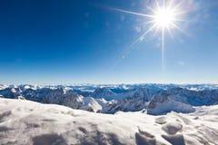 Ландшафт высокой горы Стоковые Изображения