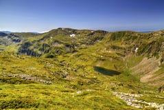 Ландшафт в высокой горе Стоковые Изображения