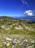 Ландшафт в высокой горе Стоковое Фото