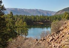 Ландшафт в горах Колорадо утесистых Стоковые Фотографии RF