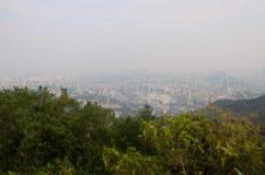 Ландшафт в горах стоковая фотография rf