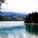Ландшафт в Италии Стоковые Изображения RF