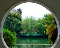 Ландшафт в парке Стоковые Изображения