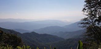 Ландшафт в северном Таиланде стоковое фото