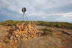 Ландшафт в Тасмании Стоковые Изображения