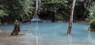 Ландшафт в prabang luang, Лаосе Стоковое Изображение