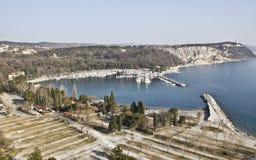 ландшафт гавани Стоковое Фото