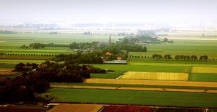 ландшафт голландеца воздуха Стоковое Изображение RF