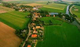 ландшафт голландеца воздуха Стоковые Изображения