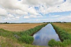 ландшафт Голландии стоковое изображение