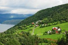 ландшафт гористая северная Норвегия Стоковое Фото