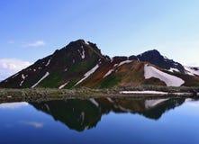 ландшафт гористый Стоковые Фото