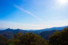 Ландшафт Горный вид Стоковая Фотография RF