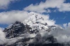 Ландшафт горных вершин гор Стоковое фото RF