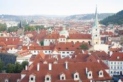 Ландшафт города Праги Стоковая Фотография RF