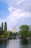 ландшафт города стоковое изображение