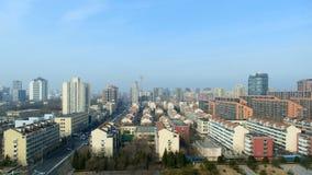 Ландшафт города Beichen Пекина стоковое изображение