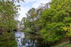 Ландшафт города latvia riga стоковая фотография rf