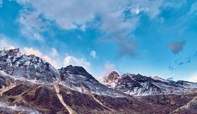 Ландшафт горы Гималаев Стоковая Фотография RF