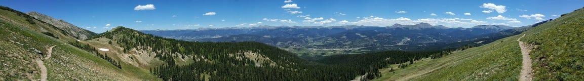 Ландшафт горы Колорадо стоковые изображения rf