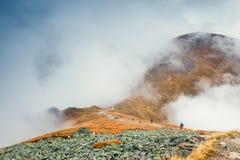 Ландшафт горы осени, горы Tatra Стоковое фото RF