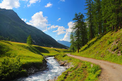 Ландшафт горы Стоковая Фотография RF