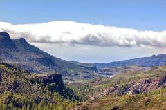 Ландшафт горы gran canaria Стоковое Изображение RF