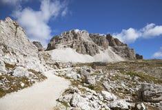 Ландшафт гор доломитов Стоковое Изображение RF