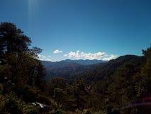 Ландшафт гор природы стоковые изображения rf