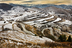 Ландшафт гор Стоковая Фотография