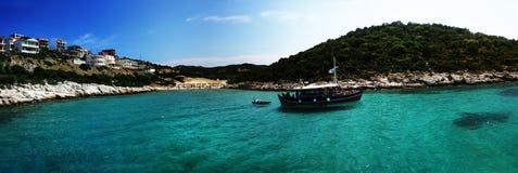 ландшафт Греции Стоковые Фотографии RF