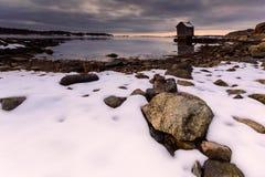 Ландшафт Гётеборга зимний стоковая фотография