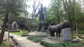 Ландшафт Джакарта стоковые изображения