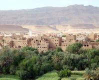 Ландшафт долины Марокко Стоковые Изображения