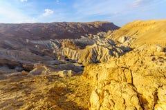 Ландшафт долины Zohar стоковая фотография