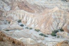 Ландшафт долины Zohar стоковое изображение