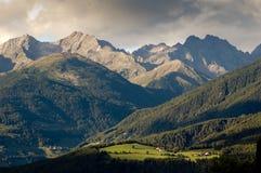 ландшафт доломитов Стоковое Изображение RF