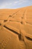 ландшафт Дубай пустыни Стоковая Фотография