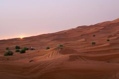 ландшафт Дубай Стоковое Фото